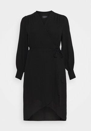 SLFLAVA WRAP DRESS  - Denní šaty - black