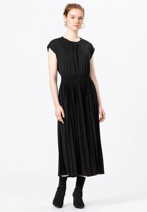 Jersey dress - schwarz