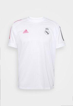 REAL MADRID AEROREADY SPORTS FOOTBALL - Klubbkläder - white
