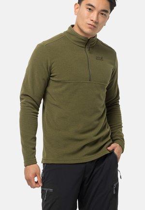 ARCO - Fleece jumper - olive