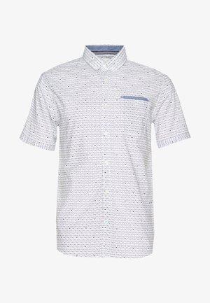 RAY SLUB HOLIDAY PRINT - Overhemd - white/navy