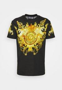 Versace Jeans Couture - GOLD BAROQUE - Print T-shirt - black - 6