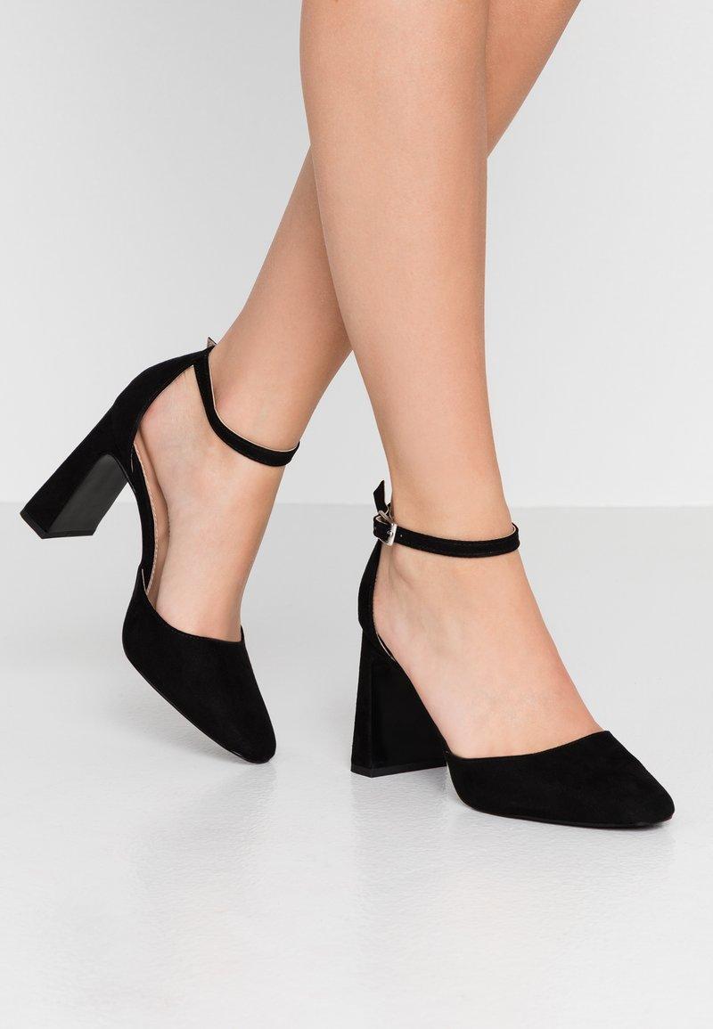 Dorothy Perkins - DANDIE FLARED OPEN COURT - High heels - black