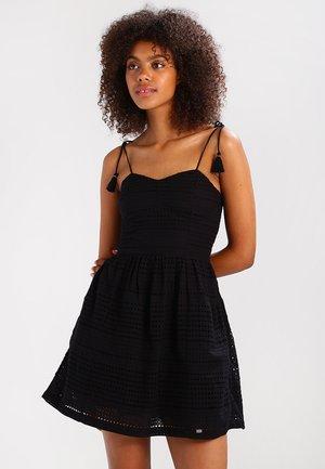 50'S TASSEL TIE - Korte jurk - black