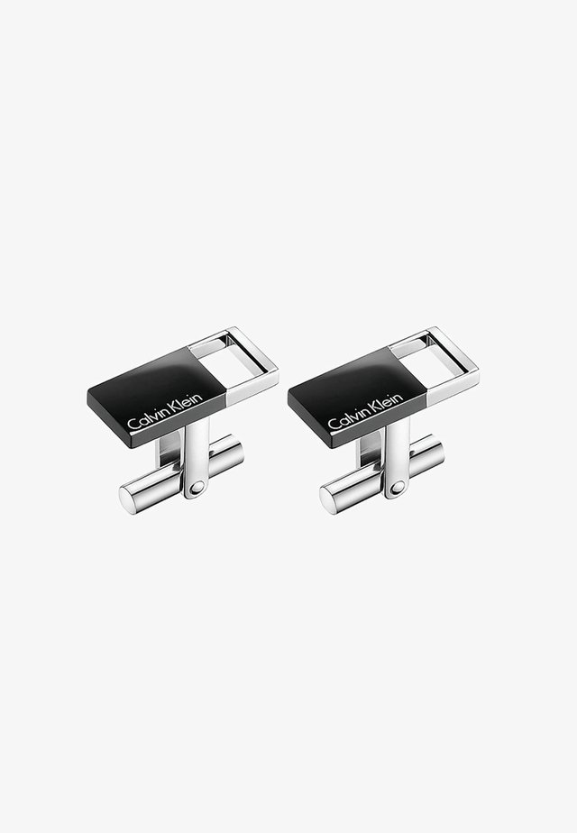 HOLLOW  - Cufflinks - black