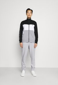 Lacoste - SET - Giacca sportiva - argent chine/blanc/noir - 0