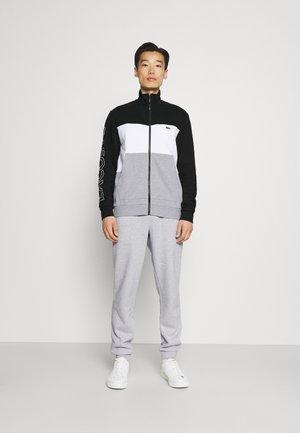 SET - Sportovní bunda - argent chine/blanc/noir