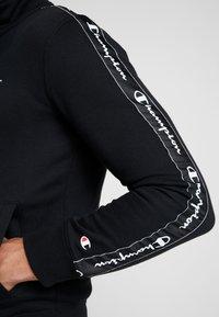 Champion - FULL ZIP SUIT - Träningsset - black - 6