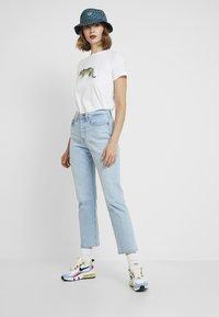 Topshop - TIGER & PANDA TEE 2 PACK - Print T-shirt - white - 1