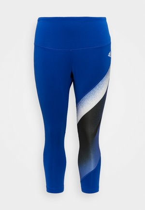 Collants - royal blue/white