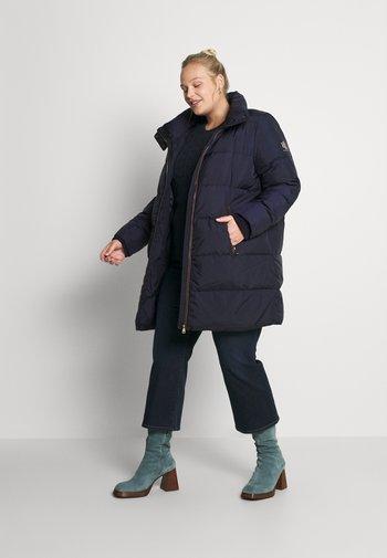 INSULATED COAT - Down coat - navy