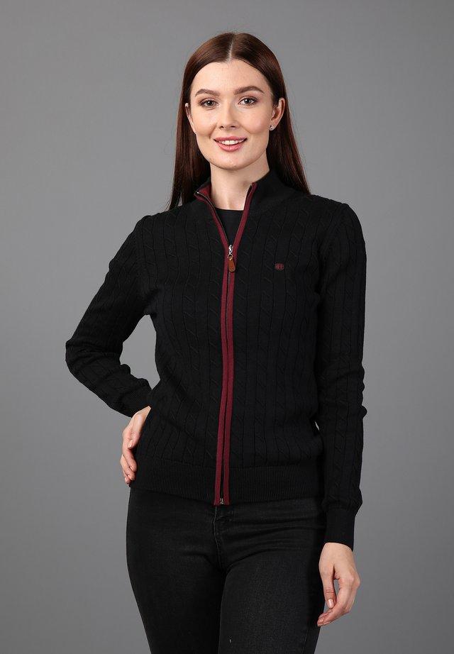 Vest - black-purple
