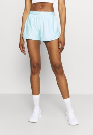 PLAY UP SHORTS EMBOSS 3.0 - Urheilushortsit - breeze