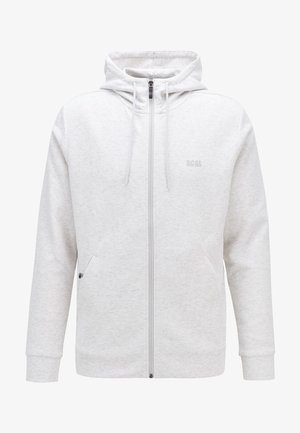 SAGGY  - veste en sweat zippée - light grey