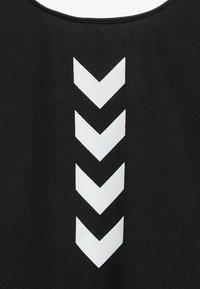 Hummel - LINEA - Kombinezon gimnastyczny - black - 2