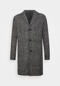Solid - FAYETTE FAUXWOOL - Classic coat - black - 0
