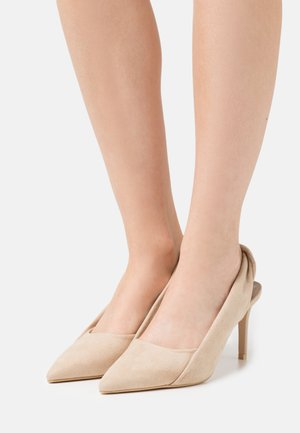 TWISTED MIND - Classic heels - beige
