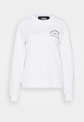 ADDRESS LOGO - Sweatshirt - white