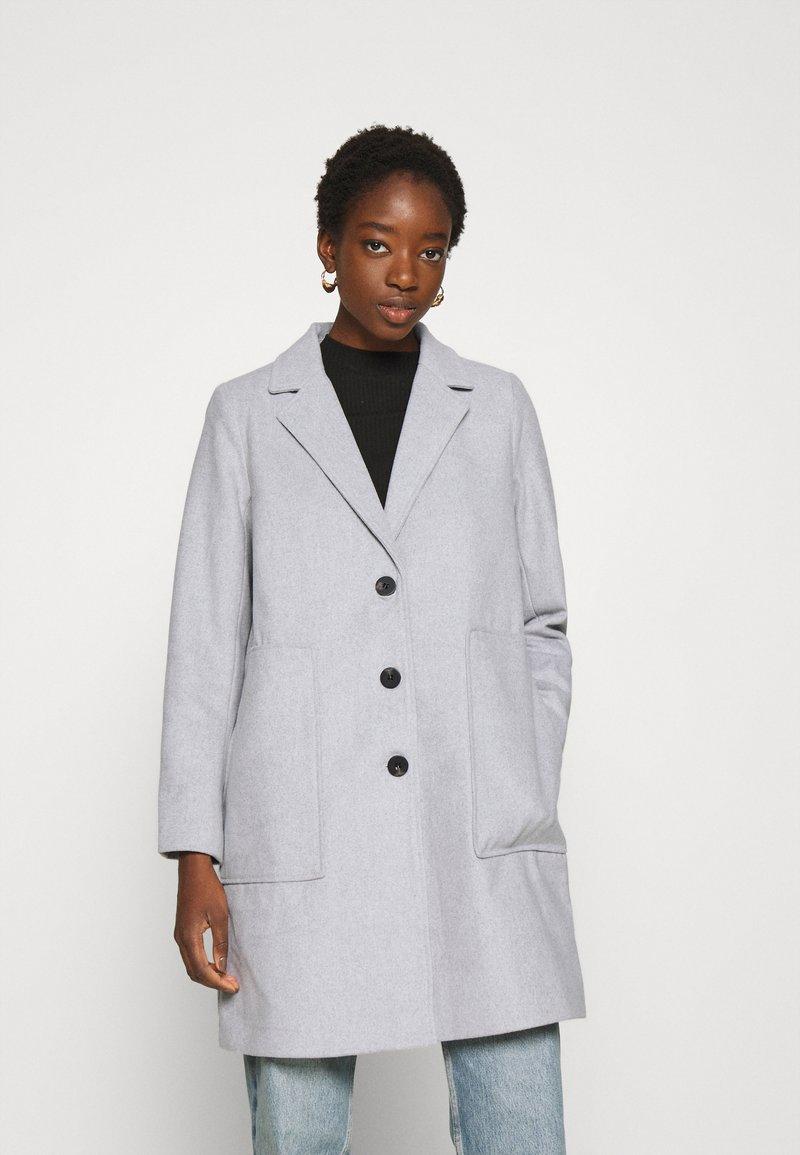 Vila - VILISIA COAT - Classic coat - light grey melange