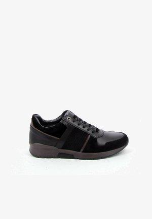 WAFFEL - Sneakers laag - black