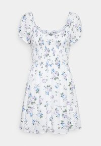 Hollister Co. - SHORT DRESS - Day dress - white floral - 4