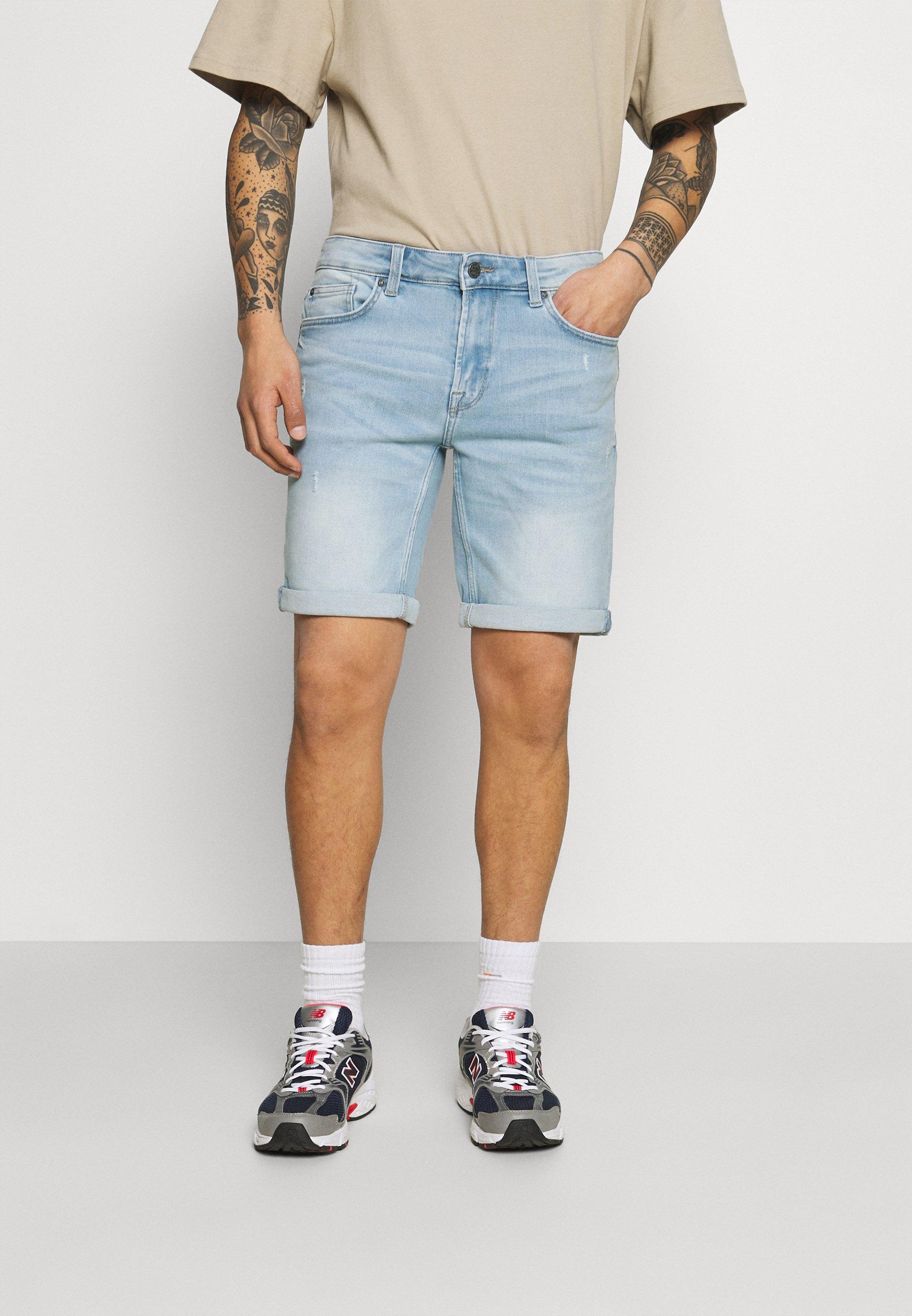 Homme ONSPLY LIFE REG BLUE  - Short en jean - blue
