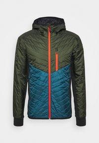 Mons Royale - ARETE INSULATION HOOD - Outdoor jacket - atlantic/rosin - 4