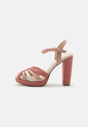 Sandalias con plataforma - nude