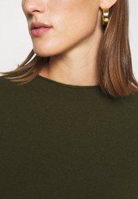 FTC Cashmere - DRESS - Jumper dress - bronze green - 5