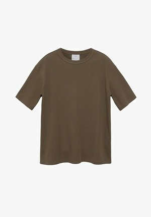 RELAXED FIT - Camiseta básica - kaki