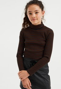 WE Fashion - Long sleeved top - brown - 0