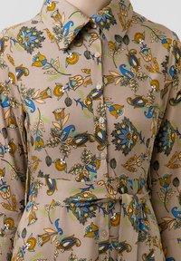 Touché Privé - FLOWER  - Maxi dress - brown - 4