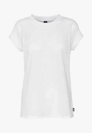 WOMENS ACTIVE TRAIL - Print T-shirt - white