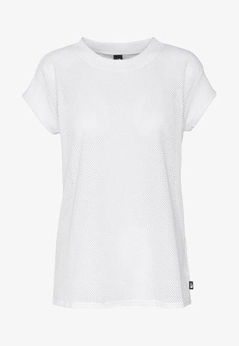 WOMENS ACTIVE TRAIL - Print T-shirt - white