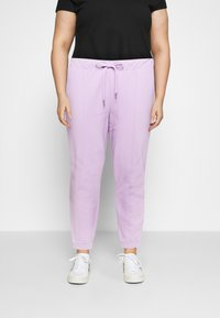 Noisy May Curve - NMMALOU PANTS - Verryttelyhousut - orchid bloom - 0