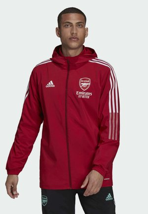 ARSENAL PRE JKT FOOTBALL FC AEROREADY TRACKSUIT JACKET - Club wear - active maroon