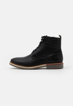 FARGO - Lace-up ankle boots - schwarz