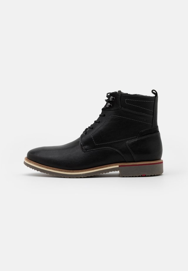 FARGO - Bottines à lacets - schwarz