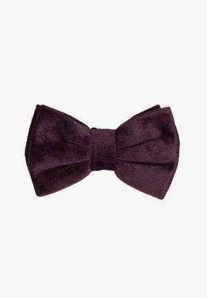 BOW TIE - Bow tie - burgundy