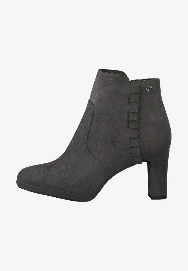 Boots à talons - graphite