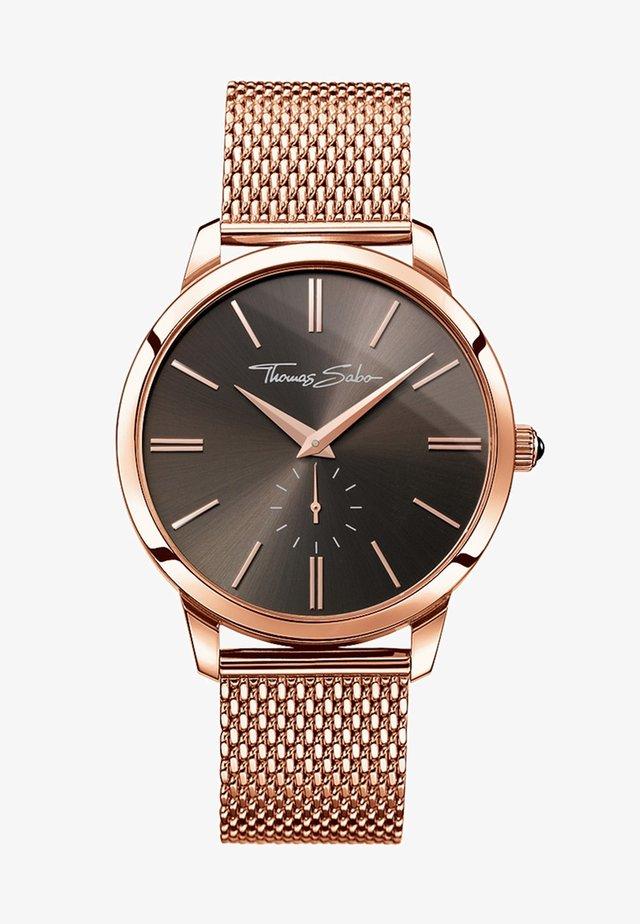 ETERNAL REBEL - Horloge - roségoldfarben/braun