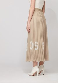 BOSS - TIPLISSEE - Maxi skirt - beige - 2