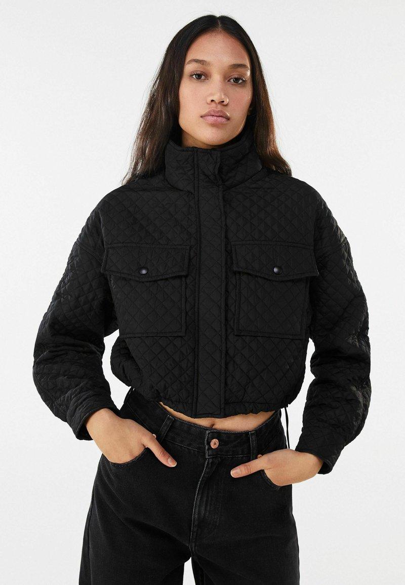 Bershka - Light jacket - black