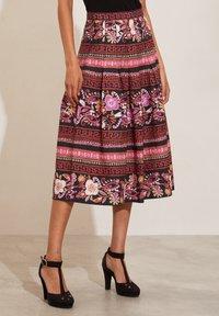 Odd Molly - REBECCA - A-line skirt - almost black - 1