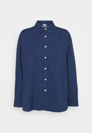 SAMMY - Button-down blouse - marine blu