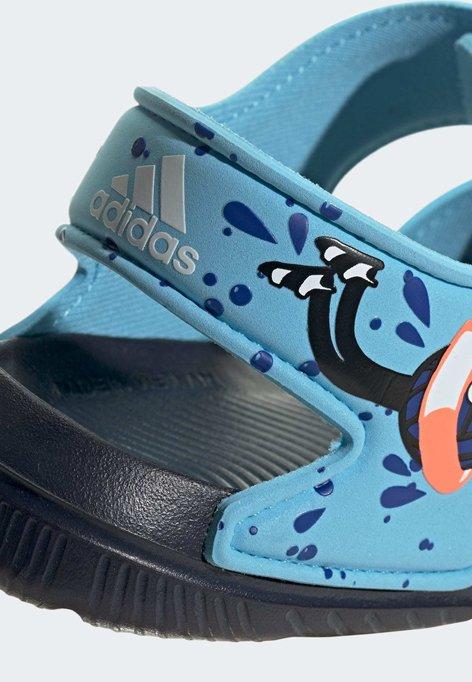 adidas Performance ALTASWIM - Sandały trekkingowe - blue - Buty dla dzieci