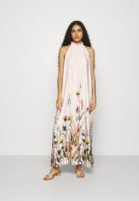 Swing - Maxi dress - sandshell/mulicolor - 0