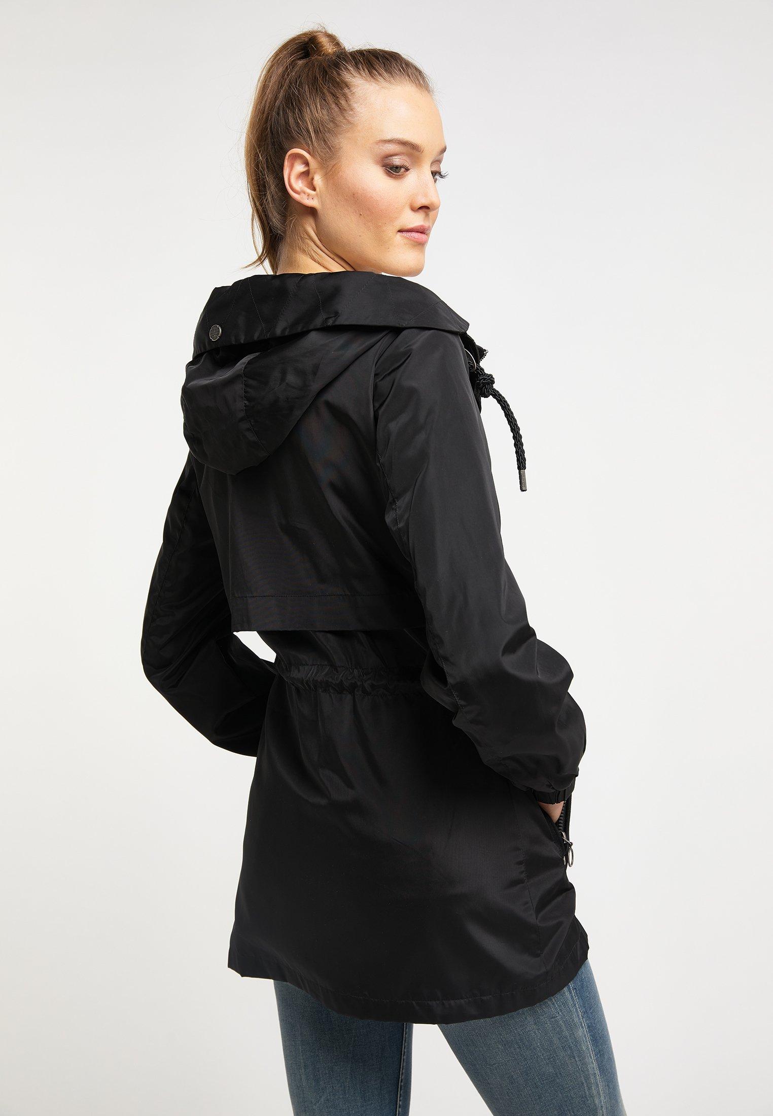 DreiMaster Übergangsjacke black/schwarz