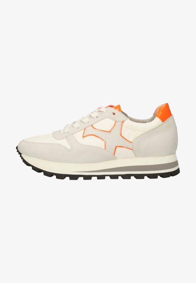 Sneakers laag - weiss/orange 849