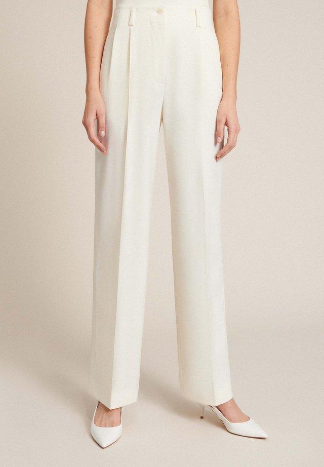 Pantalon classique - panna